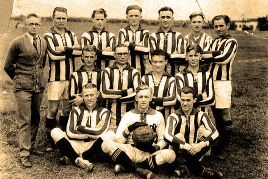 Danes-Young-Peoples-Home Soccer team 1925